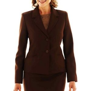 MICHAEL KORS brown blazer jacket